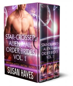 Book Cover: Star-Crossed Alien Mail Order Brides Collection