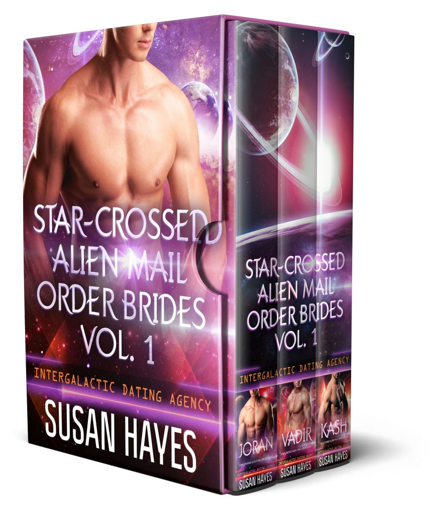Book Cover: Star-Crossed Alien Mail Order Brides Collection Vol. 1