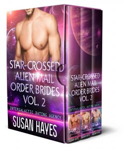 Book Cover: Star-Crossed Alien Mail Order Brides Collection Vol. 2