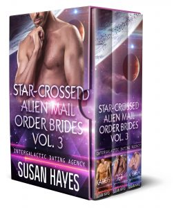 Book Cover: Star-Crossed Alien Mail Order Brides Vol. 3